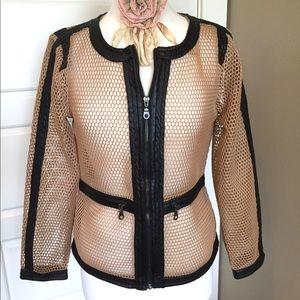 Size S Faux Leather Jacket